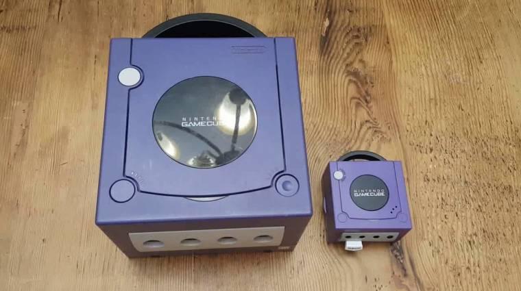 Készült egy rajongói miniváltozat a Nintendo GameCube-ból bevezetőkép