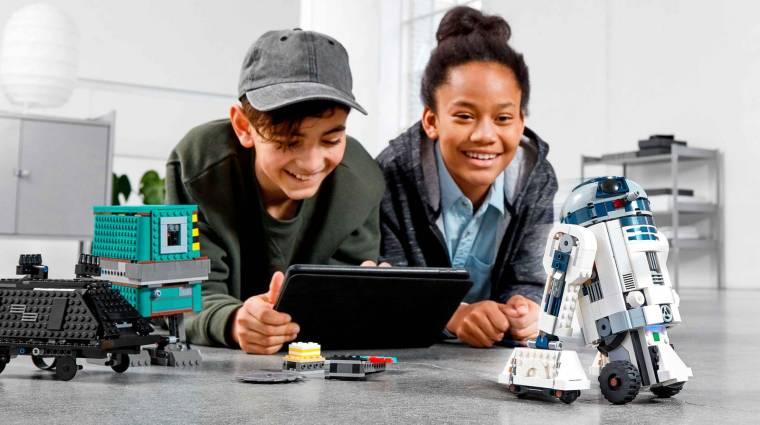Irányítható Star Wars-os droidokkal erősít a LEGO bevezetőkép