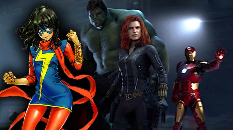 Gamescom 2019 - Ms. Marvel is szerepelni fog a Marvel's Avengersben bevezetőkép