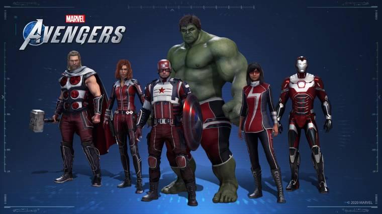 Nem csak a PlayStation tulajok kapnak exkluzív Marvel's Avengers tartalmakat bevezetőkép