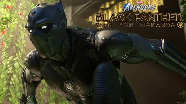 Kozmikus Kocka és Fekete Párduc - mozgásban a Marvel's Avengers közelgő kiegészítői bevezetőkép