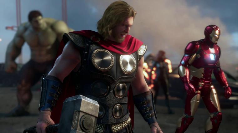 Gamescom 2019 - többek között a Bosszúállókkal erősít a Square Enix bevezetőkép