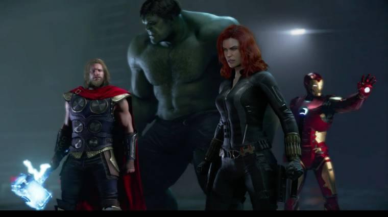Marvel's Avengers - mozgásban a Fekete Özvegy bevezetőkép