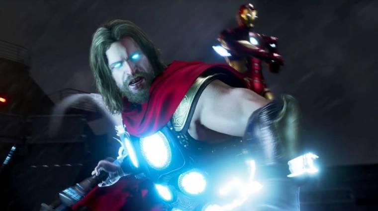 Marvel's Avengers - kiszivárgott egy gameplay felvétel Thorral bevezetőkép