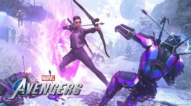 Kate Bishop is csatlakozik a Marvel's Avengers hőseihez bevezetőkép
