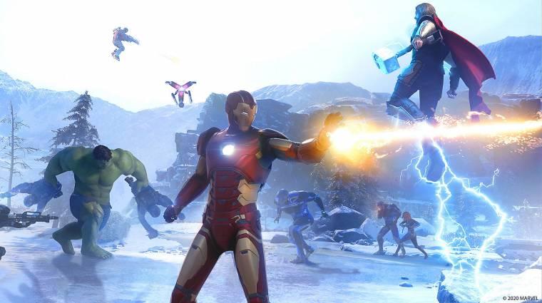 Egy darabig még nem fognak megszépülni a Marvel's Avengers hősei bevezetőkép