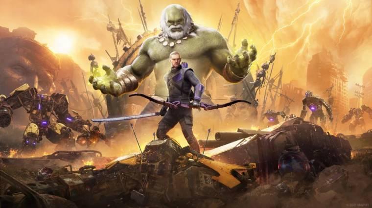 Kiderült, mikor érkezik meg Sólyomszem a Marvel's Avengersbe, és mikor jönnek a next-gen verziók bevezetőkép