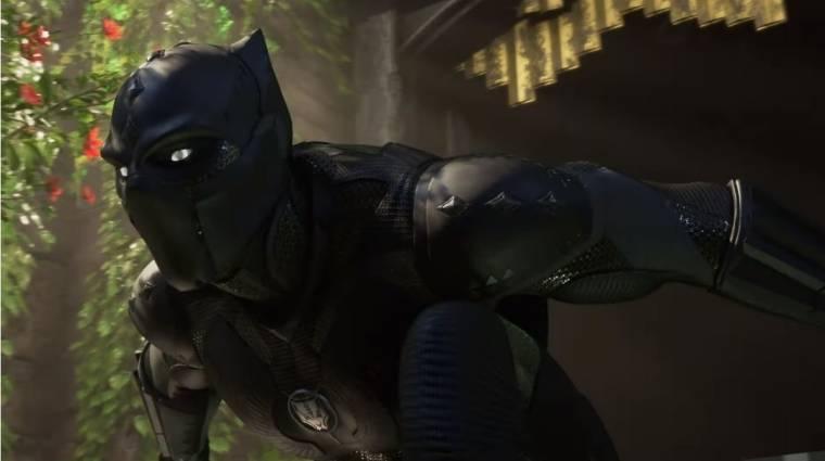 Egy egész Marvel's Avengers kiegészítőt húznak fel a Fekete Párducra, Pókember viszont késni fog bevezetőkép