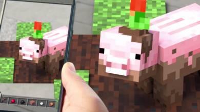 Minecraft Earth - megjött az első játékmenet bemutató