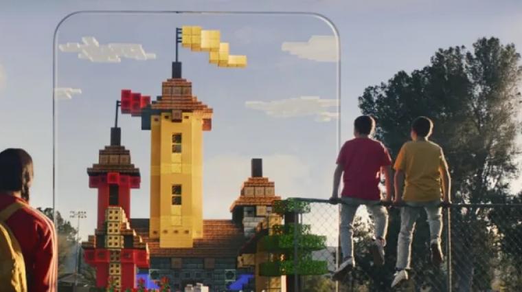 Minecraft Earth - jön az AR játék, a valóságban is építhetsz vele bevezetőkép