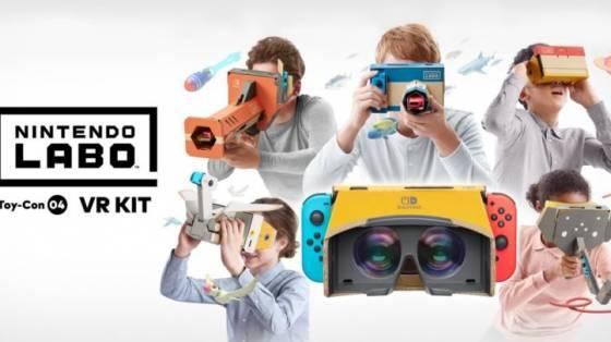 Nintendo Labo Toy-Con 04: VR Kit infódoboz