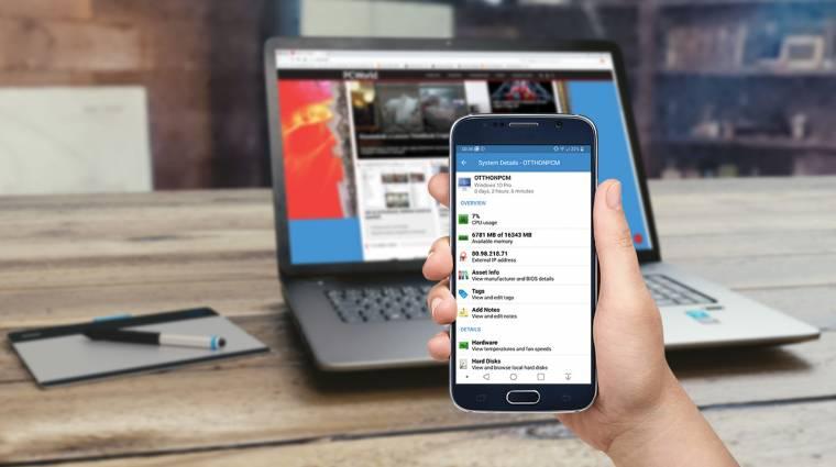 Így felügyelheted mobilról a PC-det kép
