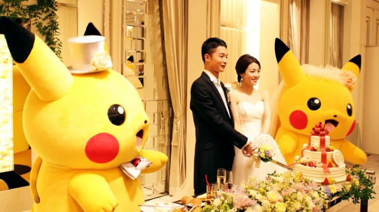 Japánban már hivatalos Pokémon esküvőt is lehet kérni bevezetőkép