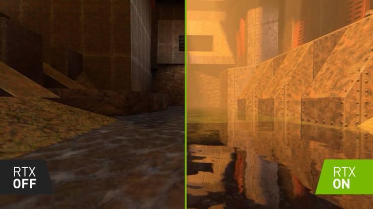 Quake II RTX - ingyen tolhatunk majd három pályát bevezetőkép