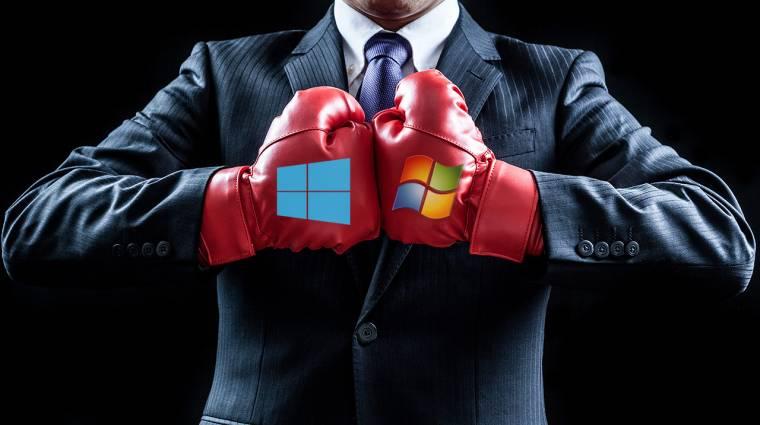 Saját magával küzd a Windows, és nem nagyon megy neki kép