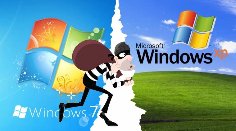 Windows 7-et vagy XP-t használsz? Baj van, azonnal frissíts! kép