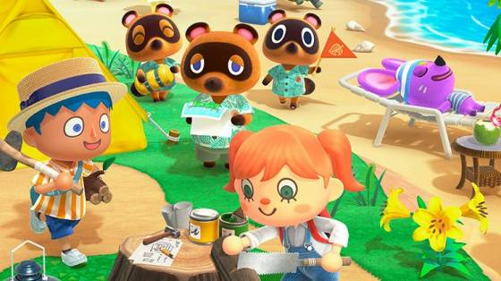 Animal Crossing: New Horizons infódoboz