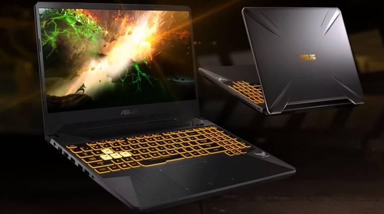 Hibrid AMD-NVIDIA gamer laptopot villantott az ASUS kép