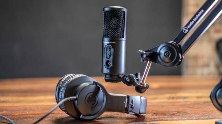 Új Audio-Technica eszközök érkeztek streamereknek és podcastereknek kép