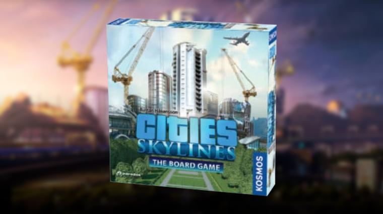 Cities: Skylines - kooperatív társasjáték készül bevezetőkép