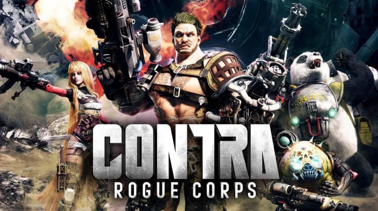 E3 2019 - idén érkezik a Contra Rogue Corps bevezetőkép