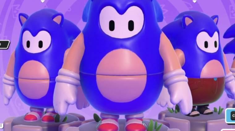 Sonic skinnel bővül a Fall Guys bevezetőkép