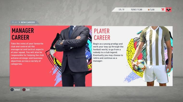 FIFA 20 - az eddigi legkidolgozottabb karriermódot kínálja majd bevezetőkép