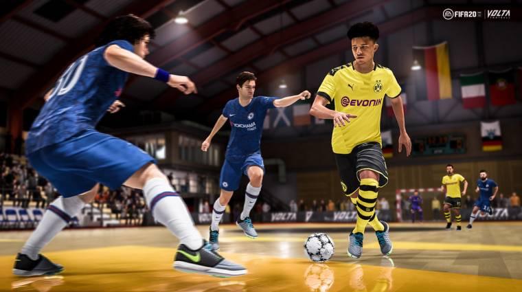 FIFA 20 - videón a Volta mód bevezetőkép