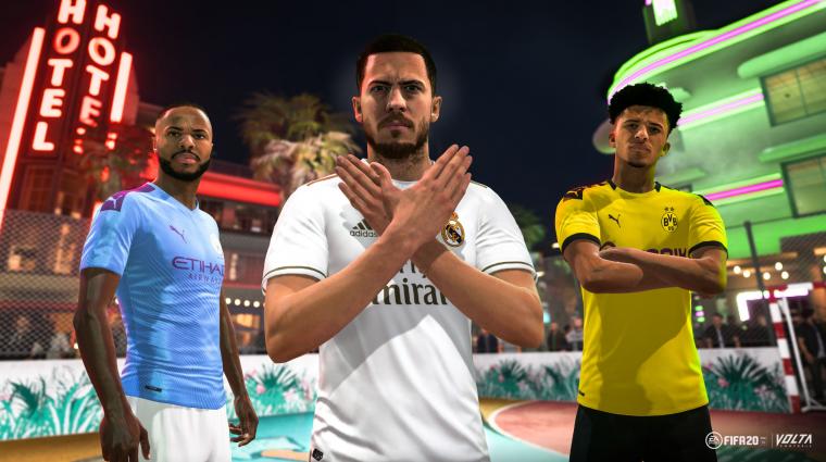 FIFA 20 - a Volta módban nem lesznek mikrotranzakciók induláskor bevezetőkép