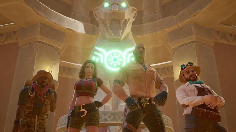 Jumanji: The Video Game - mától elérhető a játék, launch trailert is kaptunk a megjelenés mellé bevezetőkép