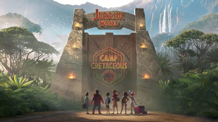 Előzetest kapott a Netflixre készülő Jurassic World animációs sorozat kép