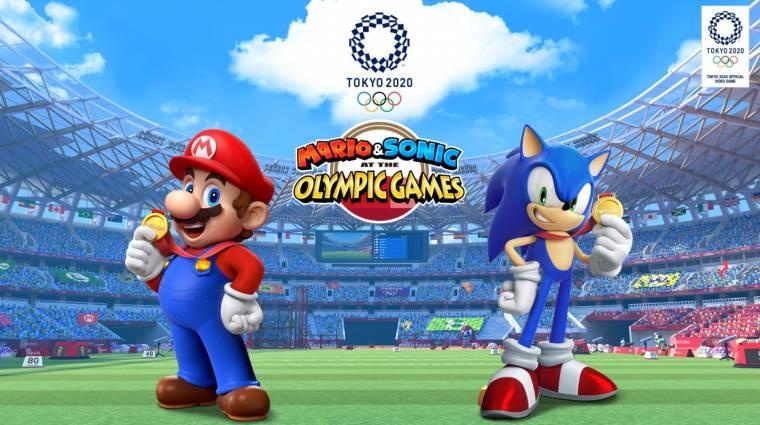 Gamescom 2019 - ilyen lesz a  Mario & Sonic at the Olympic Games Tokyo 2020 játékmenete bevezetőkép