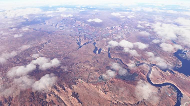Microsoft Flight Simulator - ilyen kilátás mellett nehéz lesz a repülőgépre figyelni bevezetőkép