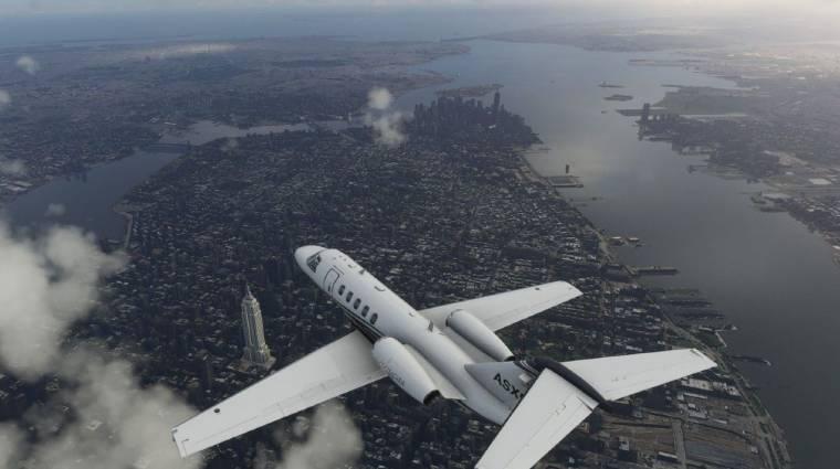 Újabb rekordot ért el a Microsoft Flight Simulator bevezetőkép