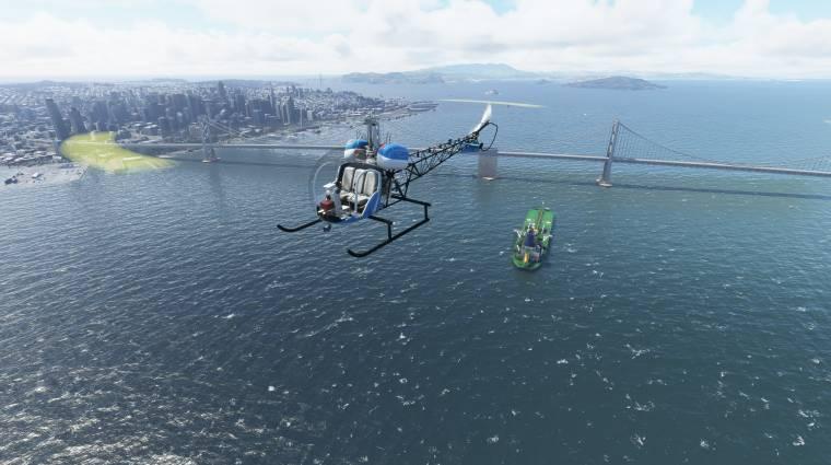 Konzolon is felszállási engedélyt kapott a Microsoft Flight Simulator bevezetőkép