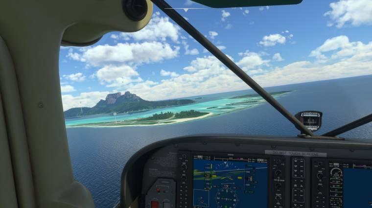 Végre megnézhetjük, milyen lesz a Microsoft Flight Simulator Xbox Series-konzolokon bevezetőkép