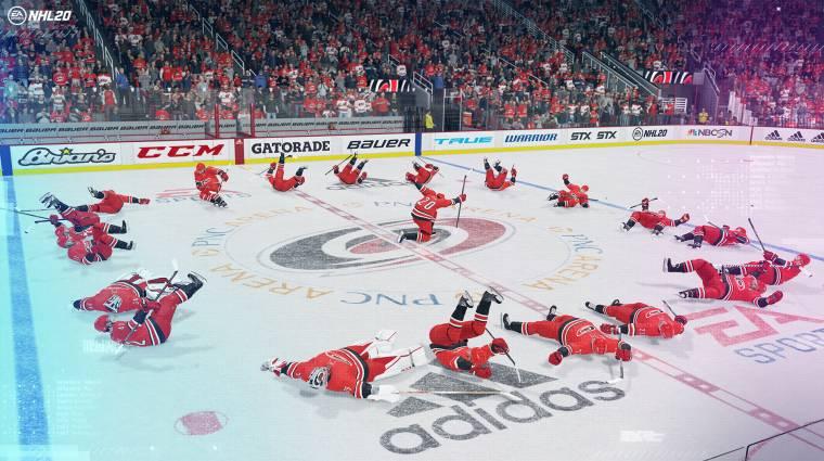 NHL 20 - battle royale móddal erősít az idei rész bevezetőkép