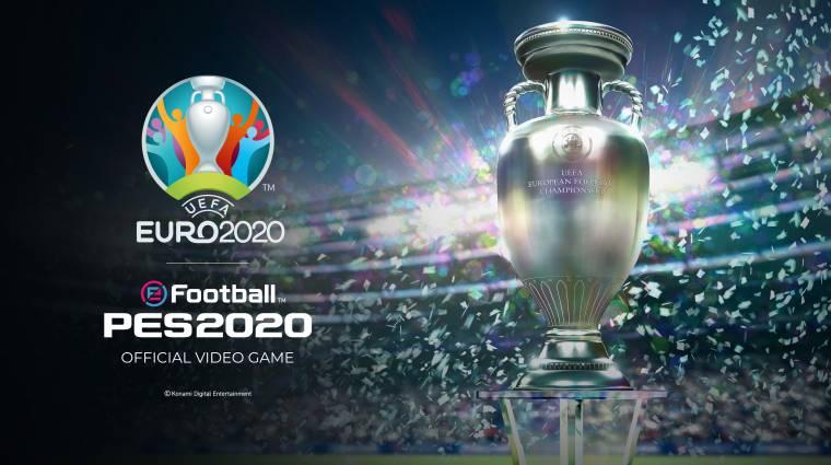 A PES 2020 játékosok mától csaphatnak le ingyen a foci EB-s DLC-re bevezetőkép