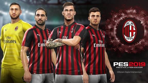 A PES elvesztette az AC Milan és az Inter Milan licenceket kép