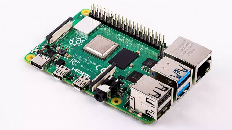 Megjelent az alig 10 000 forintos Raspberry Pi 4 kép