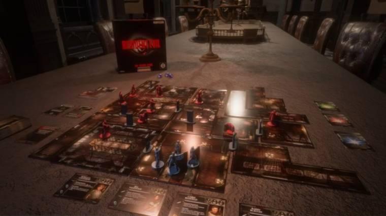 A Resident Evil társas Kickstarter kampánya önmagában is egy játék lesz bevezetőkép