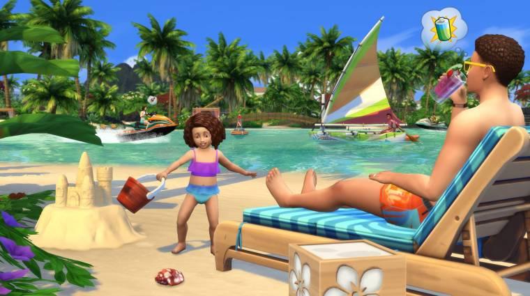 The Sims 4 - belenézhetünk az Island Living kiegészítő játékmenetébe bevezetőkép