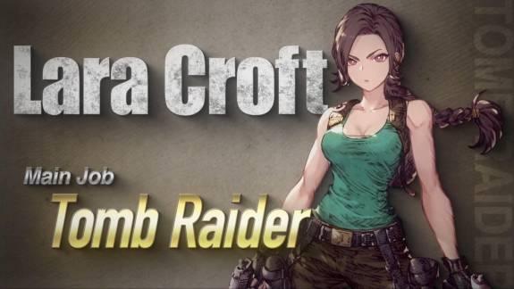Lara Croft hamarosan egy Final Fantasy-játékban fog lövöldözni kép