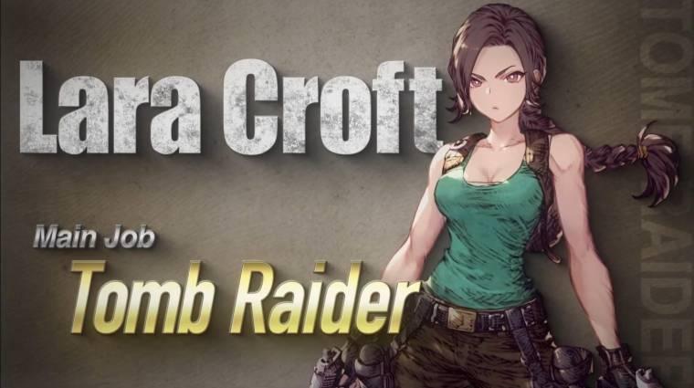 Lara Croft hamarosan egy Final Fantasy-játékban fog lövöldözni bevezetőkép