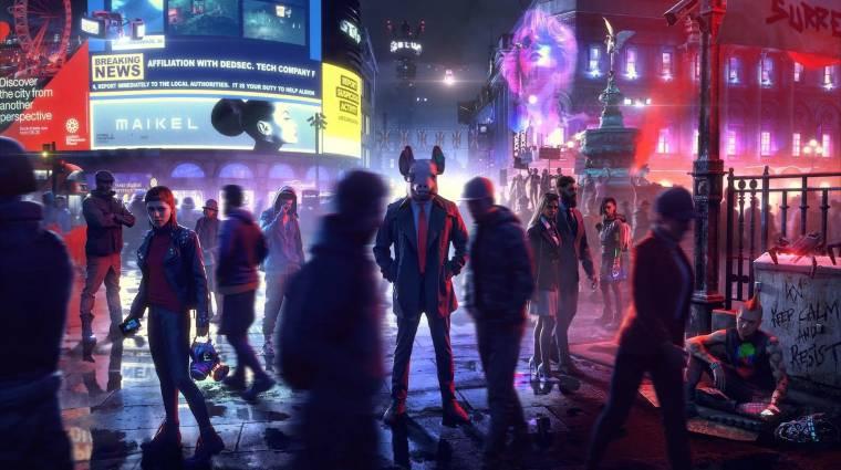 Gamescom 2019 - a Watch Dogs: Legiont is hozza a Ubisoft bevezetőkép