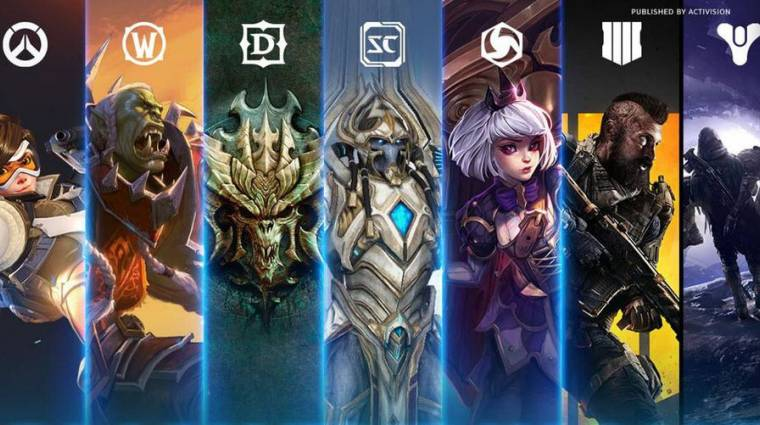 Visszaestek az Activision Blizzard bevételei bevezetőkép