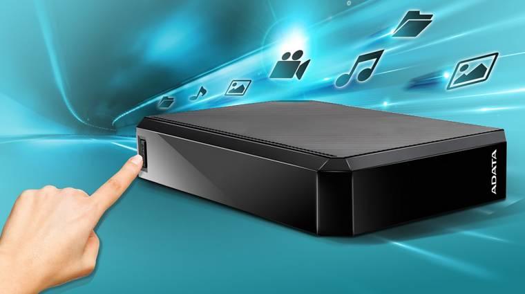 Új ADATA külső merevlemez jön konzolok és tévék mellé kép