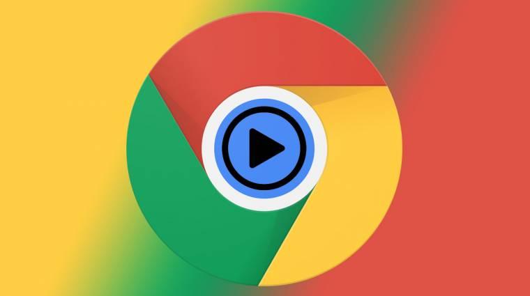 Médialejátszó gomb jön a Chrome böngészőbe kép