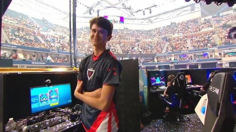 Fortnite - egy 16 éves srác lett a világbajnok, 3 millió dollárt vitt haza bevezetőkép