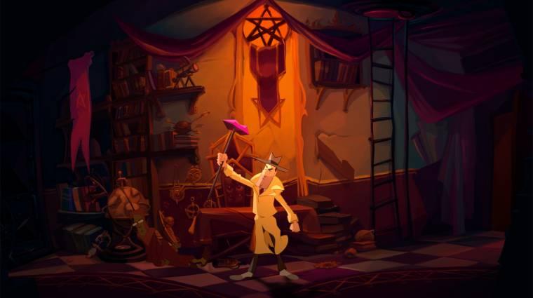 Gibbous - A Cthulhu Adventure - meglepően jó párosításnak tűnik a rajzfilmes látvány és Lovecraft sötét világa bevezetőkép